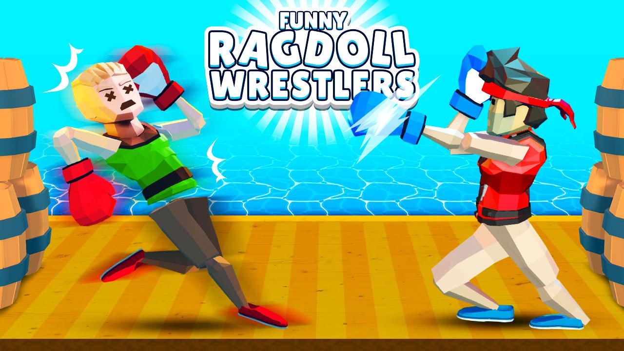 Image Funny Ragdoll Wrestlers