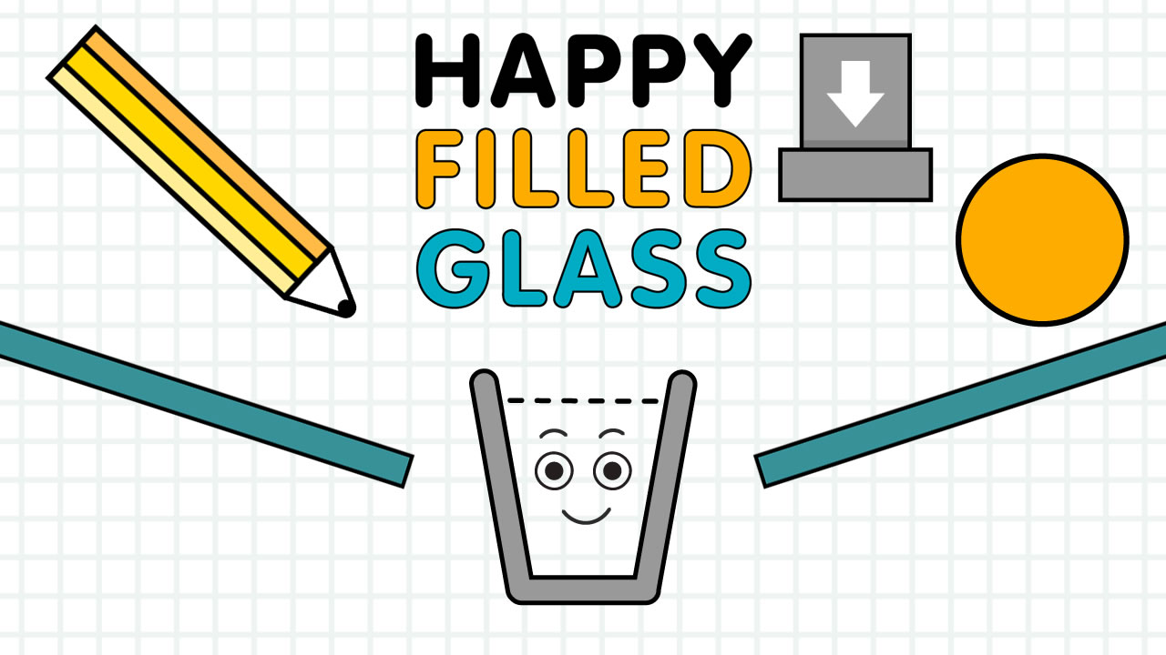 Image Happy Filled Glass