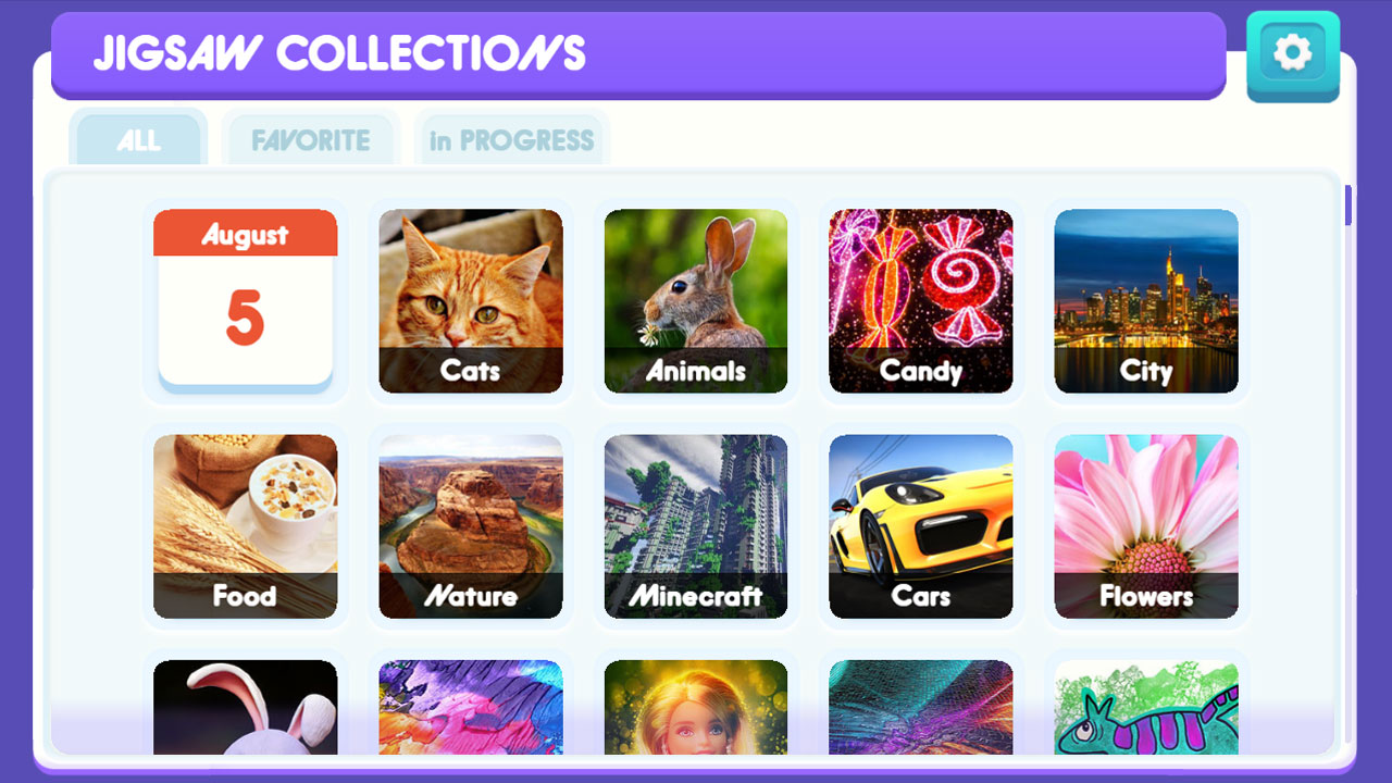 Image Jigsaw Collections