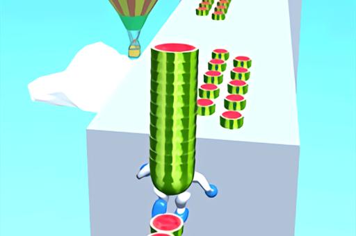 Watermelon Run 3D
