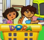 Dora and Diego City Railroad