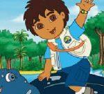 Go Diego Go Sliding Puzzle