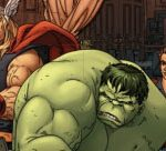 Hulk With Friends Photo Mess