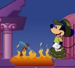 Mickey Mouse in The Lost Treasure of Maroon