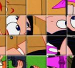 Phineas And Ferb Spin Puzzle II