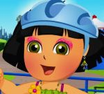 Pretty Dora Roller Skating Dress Up